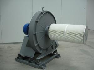 Центробежни вентилатори за високо налягане