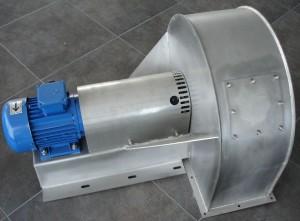 Вентилатори изработени от неръждаема стомана.